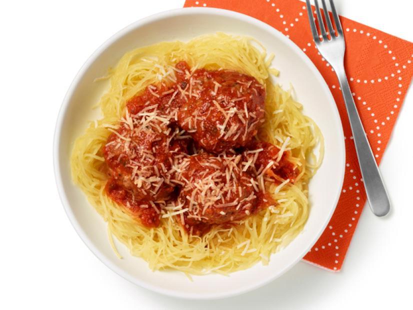 spaghetti squash meatballs